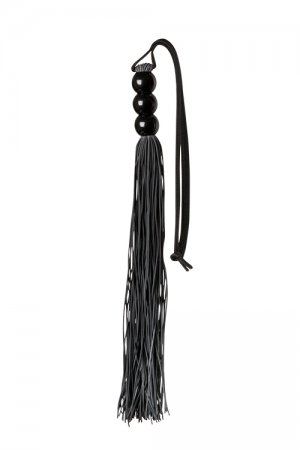 Rubber Whip Black