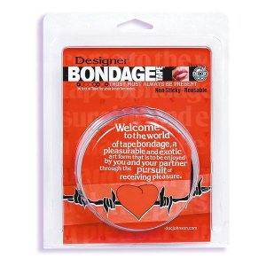 Bondage Tape Clear Hearts