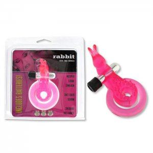 Rabbit Cockring Pink