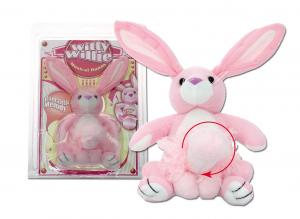 Witty Willie. Musical rabbit with rotating penis.