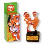 Santa Claus wind-up dolls