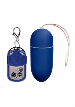 Ou Vibrator Blue, Wireless, 10 Viteze
