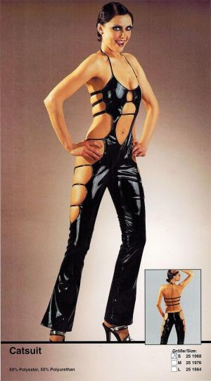 Salopeta Catsuit Latex