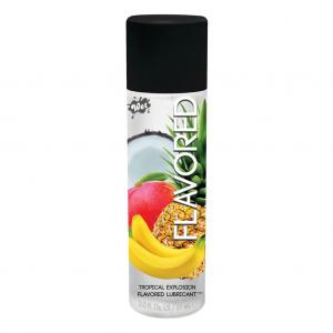 Lubrifiant Intim, Wet Flavored, Tropical Explosion, 89ml [ 139 Grame ]