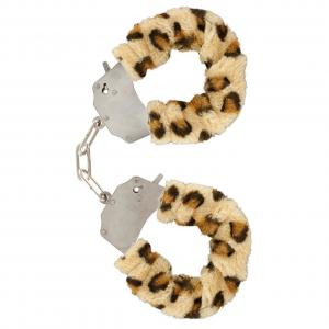 Catuse Metal cu Plus Leopard, Toy Joy