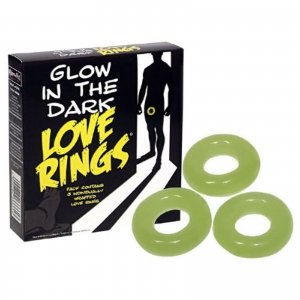 Love Rings Glow in Dark