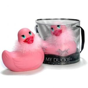 I Rub My Duckie Paris Pink