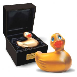 I Rub My Duckie Travel Gold