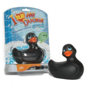 I Rub My Duckie Vibrator Black