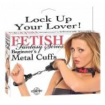 Fetish Fantasy Beginner Metal Cuffs
